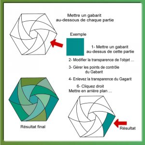 11a-ETAPES DE LA REALISATION DE CET IRIS FOLDING