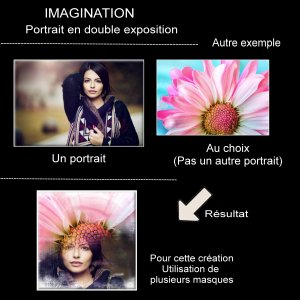 7-CHALLENGE - IMAGINATION - PORTRAIT EN DOUBLE EXPOSITION