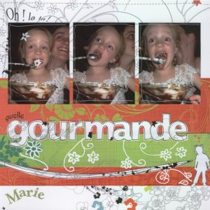 Quelle gourmande